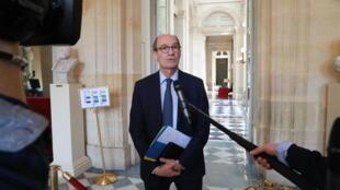Le député Les Républicains (LR) et président de la Commission de finances de l'Assemblée nationale, Eric Woerth, le 19 mars 2020 à Paris