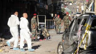 Au moins 44 personnes ont péri dans le double attentat-suicide perpétré, jeudi 12 novembre 2015, dans la banlieue sud de Beyrouth.