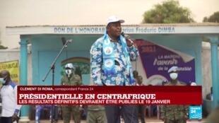 Centrafrique : la Commission électorale annonce la victoire du président Touadéra