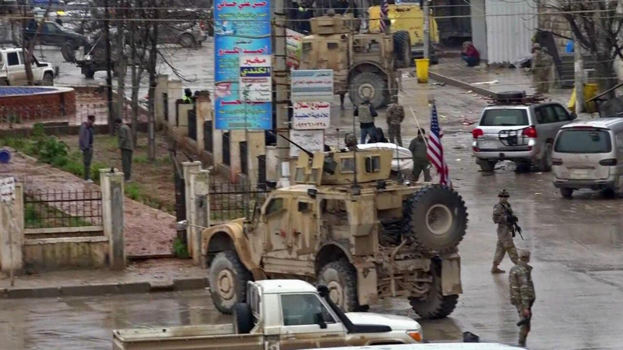 قاعدة عسكرية أمريكية قرب منبج