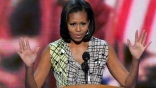 السيدة الأمريكية الأولى ميشيل أوباما