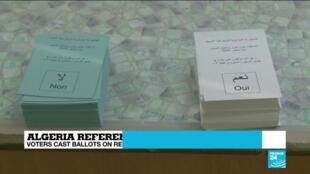 2020-11-01 18:11 Algeria holds constitutional referendum as the Hirak movement calls for a boycott