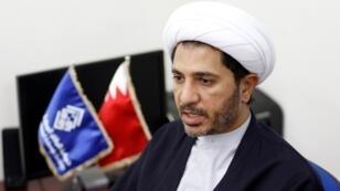 الزعيم الشيعي البحريني المعارض الشيخ علي سلمان، 28 أكتوبر/تشرين الأول 2014