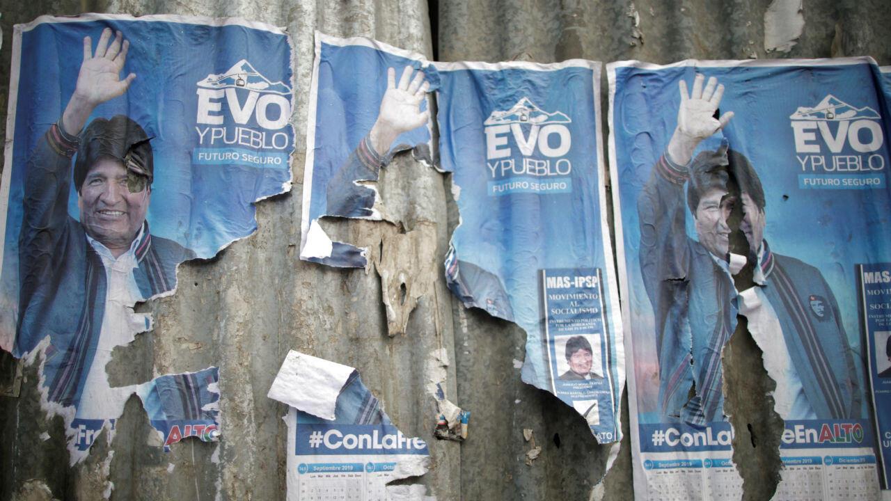 Dirigés depuis 2006 par Evo Morales, les Boliviens votent dimanche pour l'élection présidentielle.