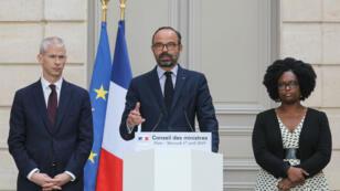 Édouard Philippe, le 17 avril 2019, à l'Élysée.