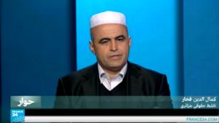 الناشط الحقوقي الجزائري كمال الدين فخار