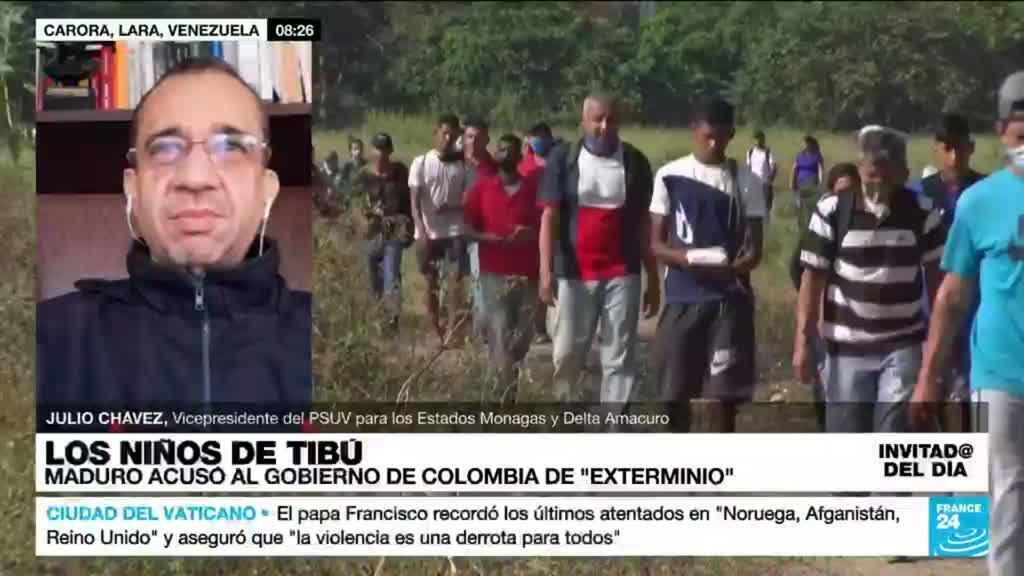"""2021-10-18 14:21 Julio Chávez: """"En Colombia hay una política de exterminio contra la migración venezolana"""""""