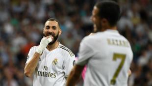 لاعب ريال مدريد بنزيمة