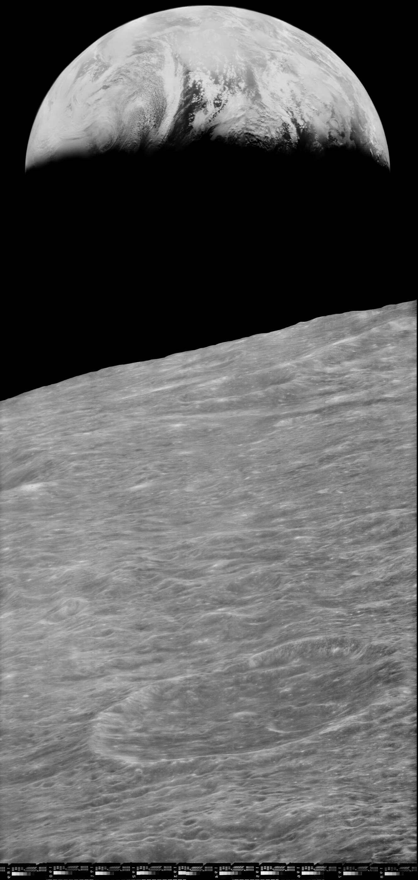 أول صورة مرقمنة للأرض ذات جودة عالية (ناسا)