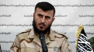 """زهران علوش قائد تنظيم """"جيش الإسلام"""""""