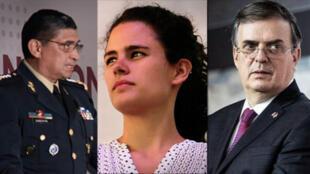 El general Luis C. Sandoval del 58 años que ocuaprá la cartera de Defensa, Luisa Alcaldede 31 años, la más jóven del gabinete dirigirá la Secretaría del Trabajo y Marcelo Ebrard de 59, estará al frente de la dependenci de Relacines Exteriores.