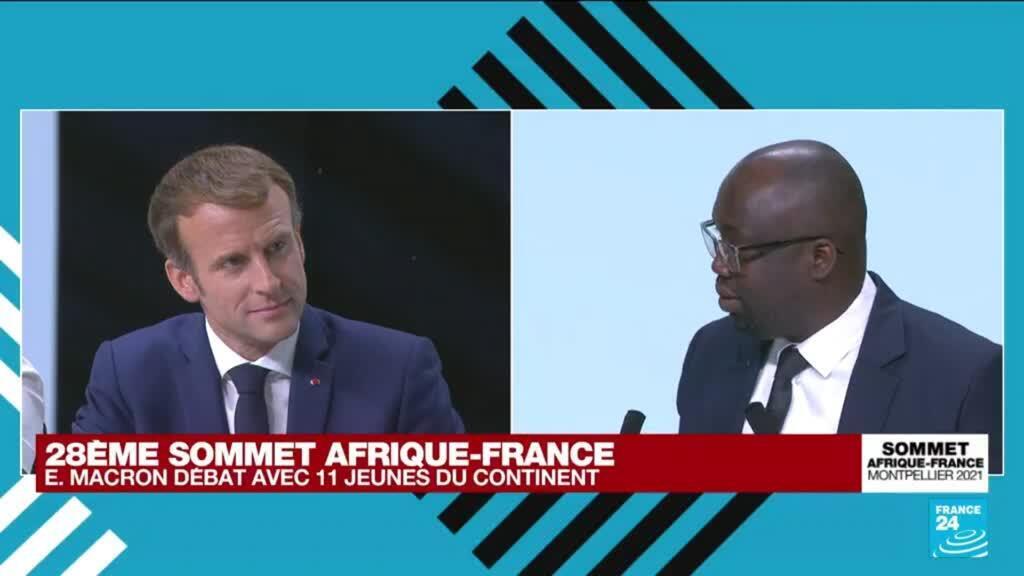 """2021-10-08 17:02 Sommet Afrique-France : """"Le travail de mémoire de l'esclavage et de la colonisation est enfin permis"""""""