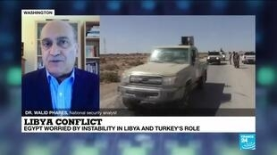 """2020-07-21 23:09 Libya conflict: """"A war in the desert between two allies to the US is not something comfortable"""""""