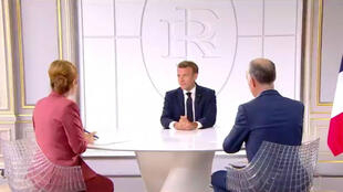 Macron answered journalists' questions in a Bastille Day interview.