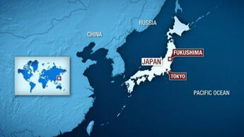 Japan's quake-stricken Fukushima  Daiichi nuclear power plant.