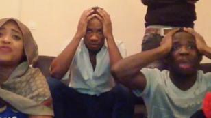 La famille Drogba explose de joie sur le tir de Barry Copa.