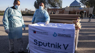 A delivery of some 20,000 doses of the Russian-made Sputnik V vaccine have arrived at the Gaza Strip via the Rafah crossing with Egypt