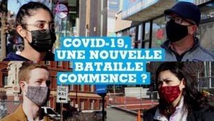 Covid-19 aux États-Unis, une nouvelle bataille commence ?