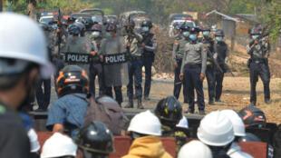 Myanmar protestas