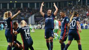 Les Lyonnaises ont remporté une nouvelle Ligue des champions.