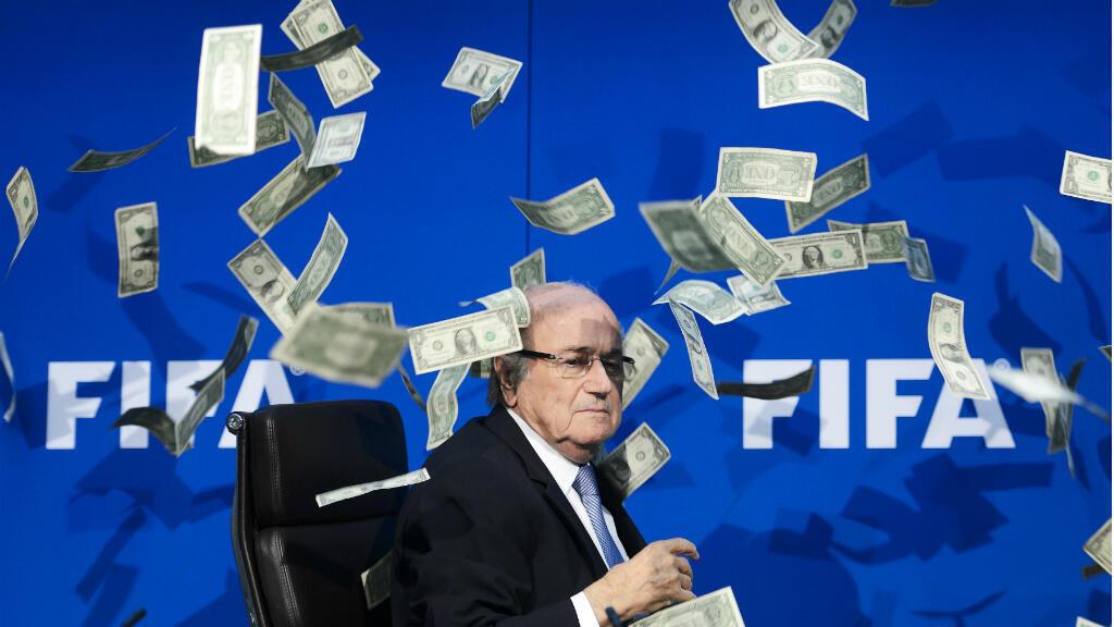 Sepp Blatter, président démissionnaire de la Fifa, a vécu une année 2015 difficile.