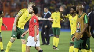 L'Égypte a été sortie contre toute attente par l'Afrique du Sud, dès les 8es.