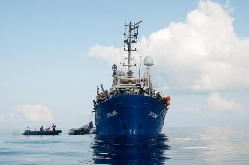 Le navire humanitaire Lifeline, le 22 juin 2018.