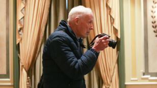 Bill Cunningham à New York, le 11 avril 2016.