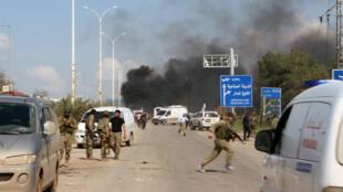 Les bus visés transportaient des civils évacués des villes prorégime de Foua et Kafraya.