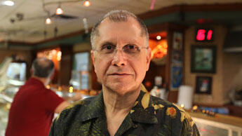 Tony Almansa arrived in the US in 1961 when his family fled Castro's Cuba.