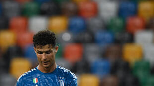 Juventus forward Cristiano Ronaldo missed chances to add to his 30-goal league tally this season in Udine