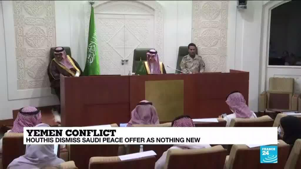 2021-03-23 13:09 Houthis dismiss Saudi peace offer as 'nothing new'