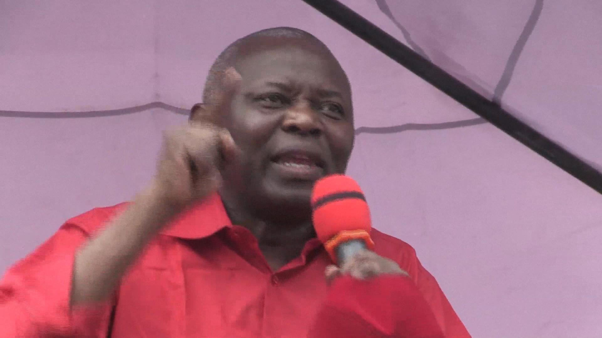 Vital Kamerhe à Goma en décembre 2018