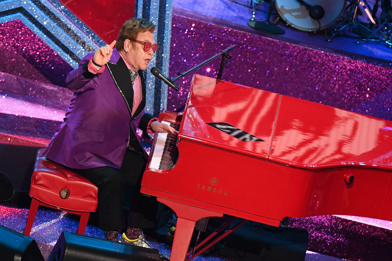 Elton John will perform in Paris, along with Ed Sheeran and Black Eyed Peas