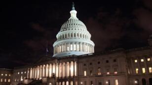 Le Capitole, siège du Congrès américain, à Washington.