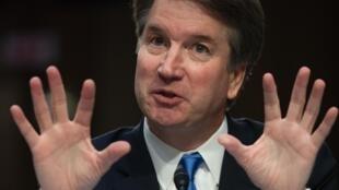 Le juge Brett Kavanaugh lors de son audition au Sénat, le 5 septembre 2018.