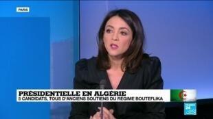 """2019-12-12 13:02 Présidentielle en Algérie: """"Des manifestations importantes ont lieu à Alger, Oran ou Constantine"""", analyse Meriem Amellal"""