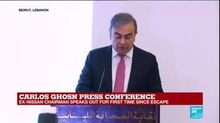 """2020-01-08 14:25 Carlos Ghosn: """"The collusion between Nissan and the prosecutor is everywhere"""""""