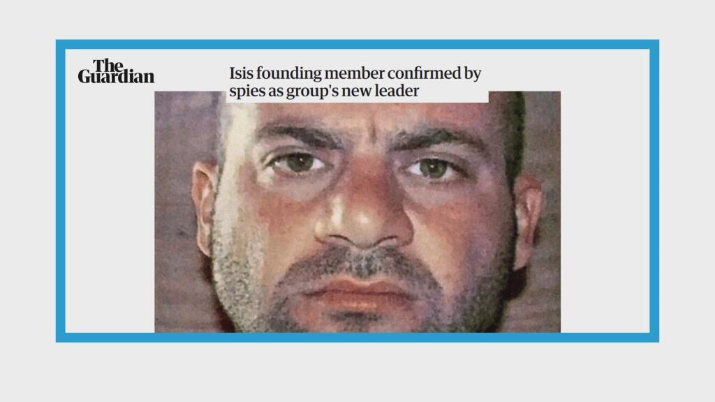 Un nouveau chef à la tête du groupe Etat islamique