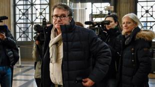 Paul François arrivant à la Cour d'appel de Lyon, le 6 février 2019.