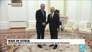 2020-03-05 14:07 War in Syria: Erdogan meets Putin to discuss battle for Idlib province