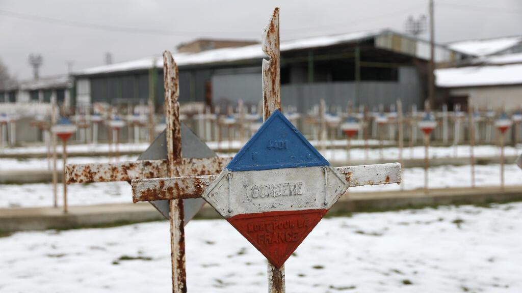 """La tombe du dénommé """"Gondère"""" dans le cimetière de Bitola, en Macédoine."""