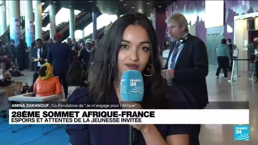 """2021-10-08 13:15 Sommet Afrique-France : """"Redonner une place à la jeunesse africaine dans la politique publique"""""""