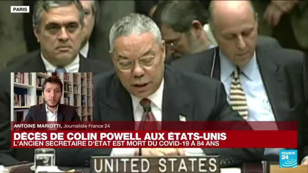 2021-10-18 15:01 Colin Powell, brillant officier militaire hanté par la guerre en Irak