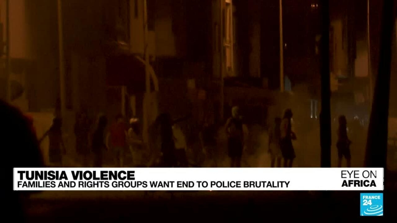 Eye on Africa - Tunisians want end to police brutality - Eye on Africa