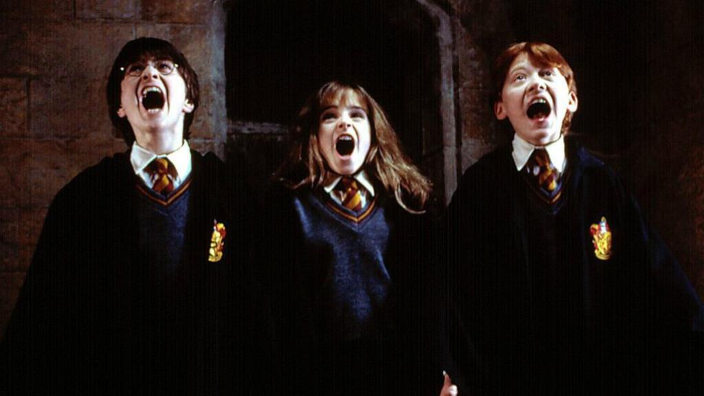 """""""Harry Potter à l'École des Sorciers"""", 2001."""