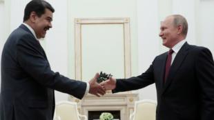 Vladimir Putin volvió a situarse al lado de Nicolás Maduro ante la situación de Venezuela.