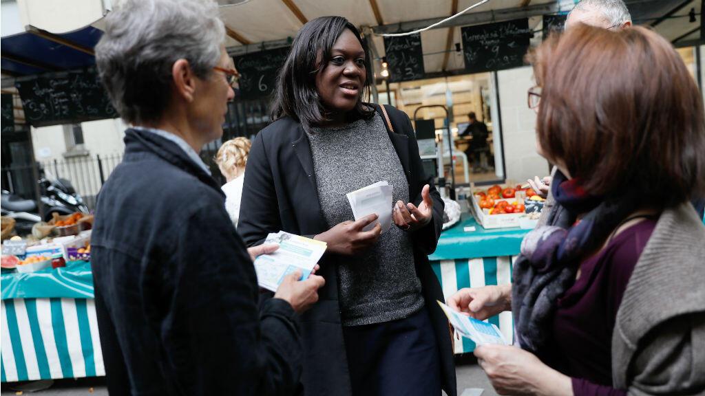 Laetitia Avia, d'origine togolaise, a été élue députée LREM dans la 8e circonscription de Paris.