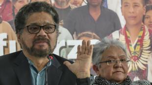 L'ex-commandant guérillero Ivan Marquez, candidat au Sénat, annonce le retrait des Farc de la présidentielle.