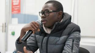 Ignace Sossou, lors des Assises du journalisme organisées à Tours
